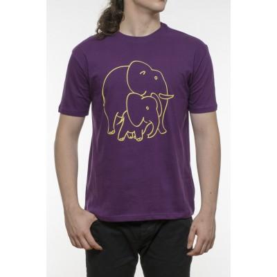 Tricou bumbac 100% - elefant