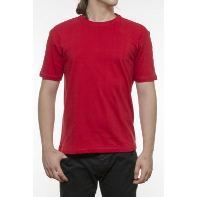 Tricou bărbați, bumbac 100% - roșu