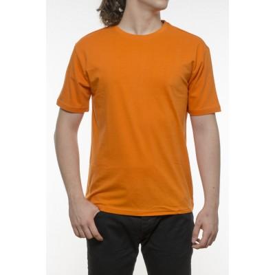 Tricou bărbați, bumbac 100%  - portocaliu