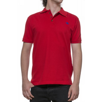 Tricou Polo rosu - bumbac 100%