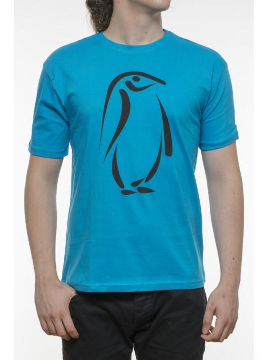 Tricou bumbac 100% - pinguin