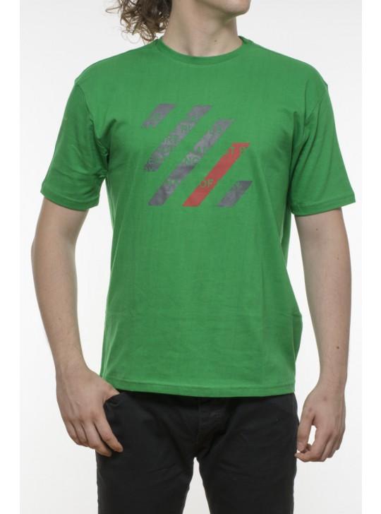 Tricou bumbac 100% - dungi multicolore