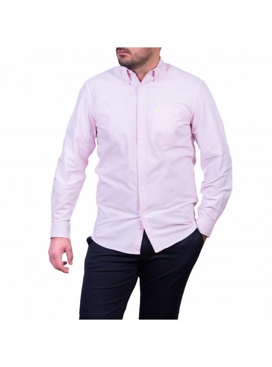 Camasa cu mâneca lunga, roz quartz
