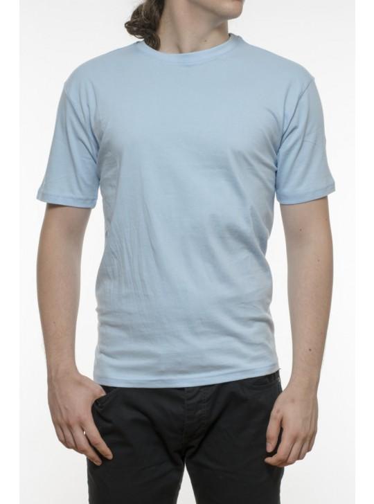 Tricou bărbați, bumbac 100% - bleu
