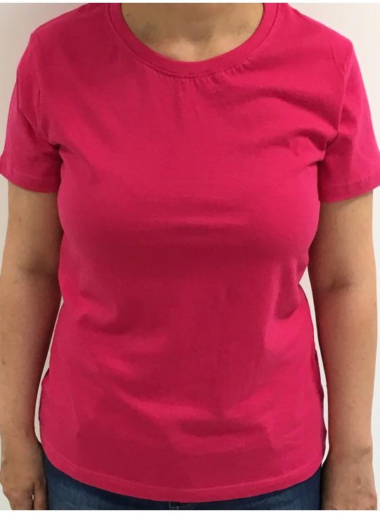 Tricou femei, bumbac 100%  - roz